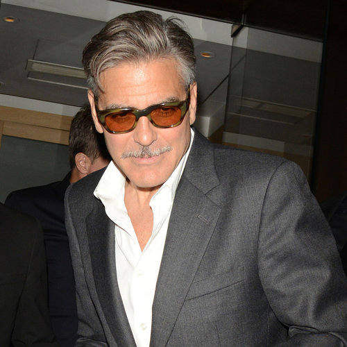George Clooney Stumbling in London