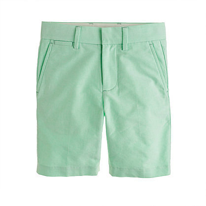Boys' club short in oxford cloth