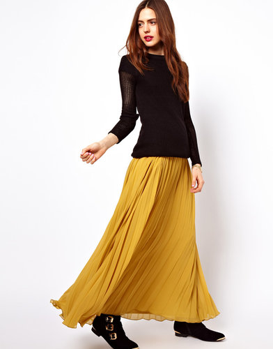 ASOS Pleated Maxi