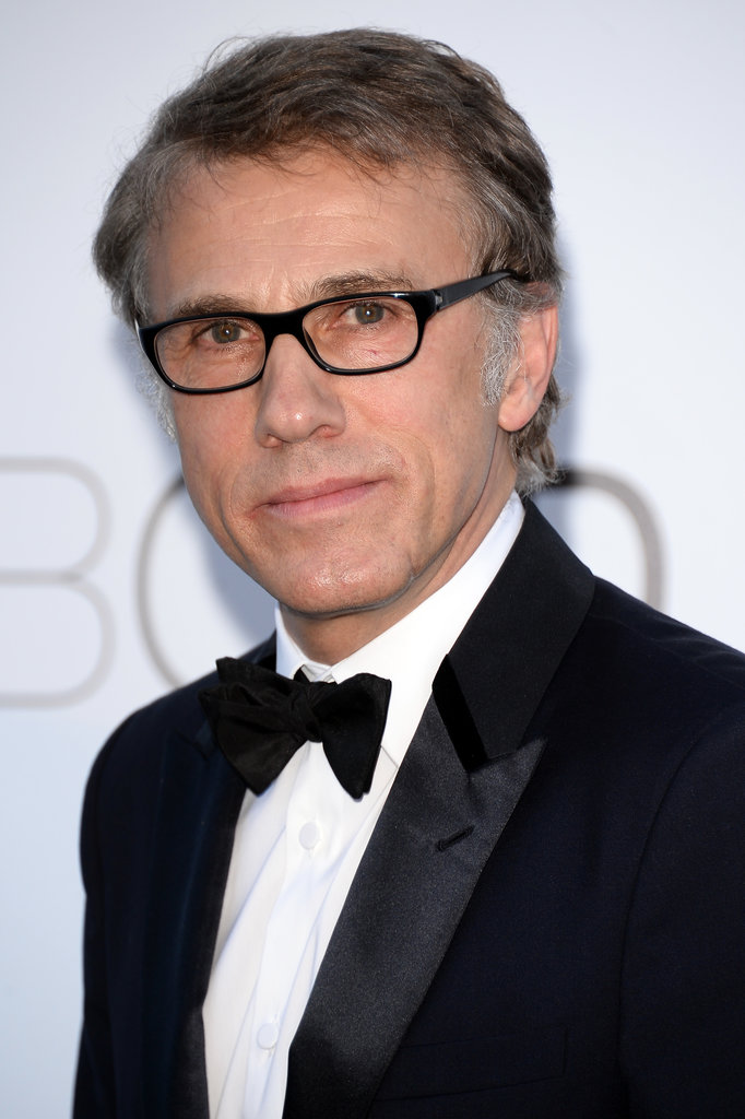 Christoph Waltz suited up on Thursday for the annual amfAR gala in Cannes.