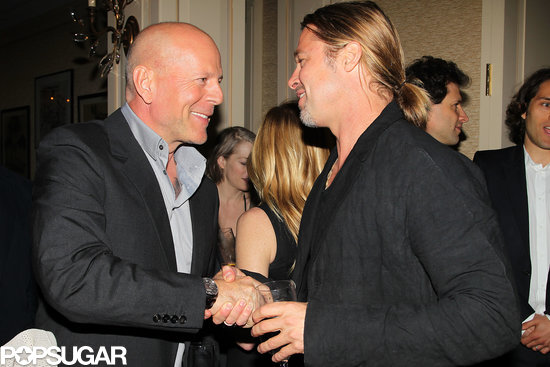 Brad Pitt Gets Celebrity Support at His First Appearance Since Angie News