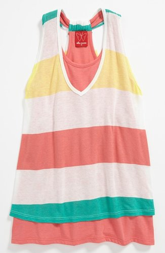 Ella Moss 'Aloha' Tank Top (Big Girls)