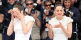 Marion Cotillard Tears Up During a Sunny Photocall in Cannes