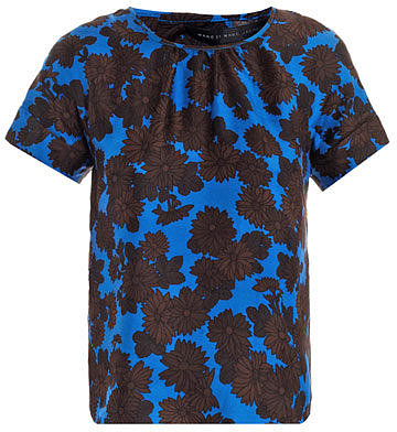 Marc by Marc Jacobs Onyx floral top