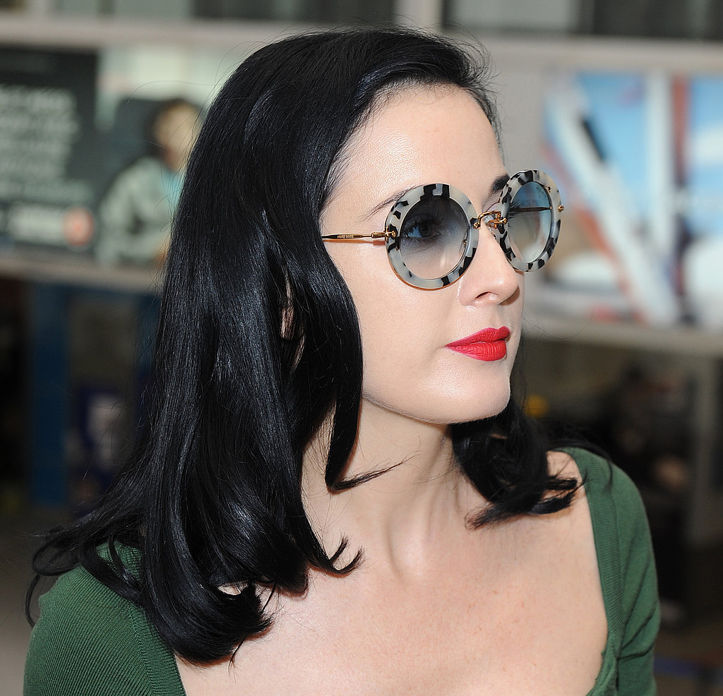 dita von teese wedding ring dita von teese wore a pair of