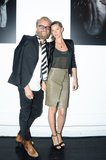Johan Lindeberg and Gisele Bundchen at a private viewing of Bundchen's new BLK DNM campaign in New York. Source: Joe Schildhorn/BFAnyc.com