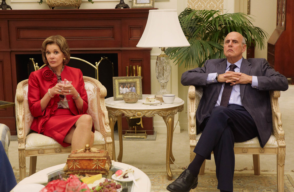 Jessica Walter as Lucille Bluth and Jeffrey Tambor as George Bluth on Arrested Development. Photos courtesy of Netflix