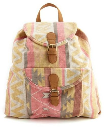 Tribal Canvas Backpack
