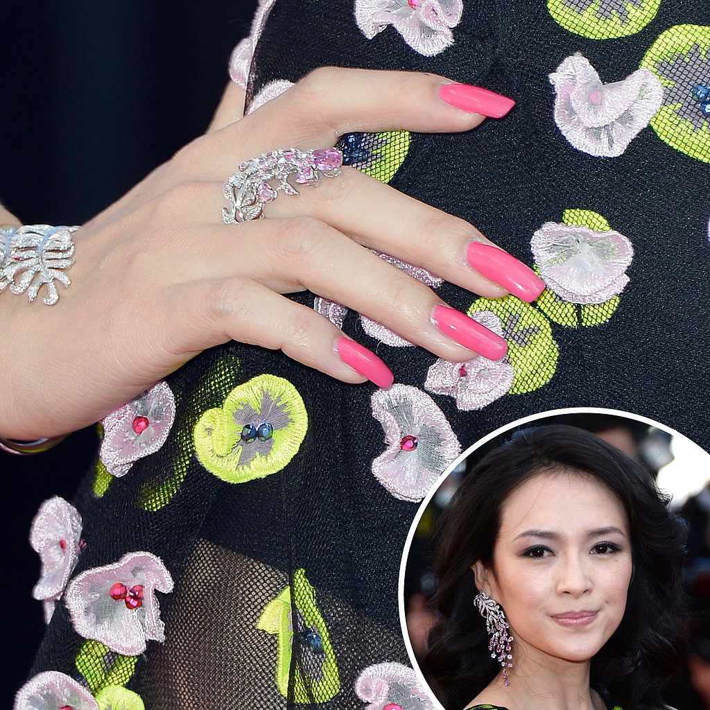 Wrapping up the festival, Ziyi Zhang wore yet another polish to the Zulu premiere and closing ceremony for the Cannes Film Festival.