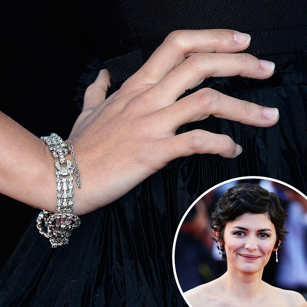Audrey Tautou was on the red carpet for the p