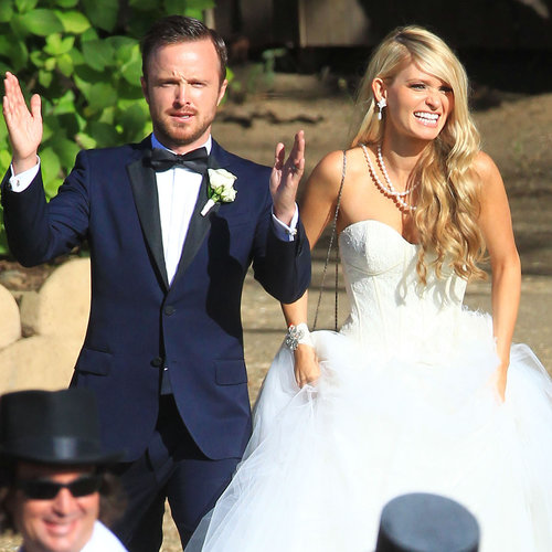 Aaron Paul Wedding Pictures