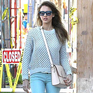 How to Wear Jessica Alba's Pastel Jeans Look | Video