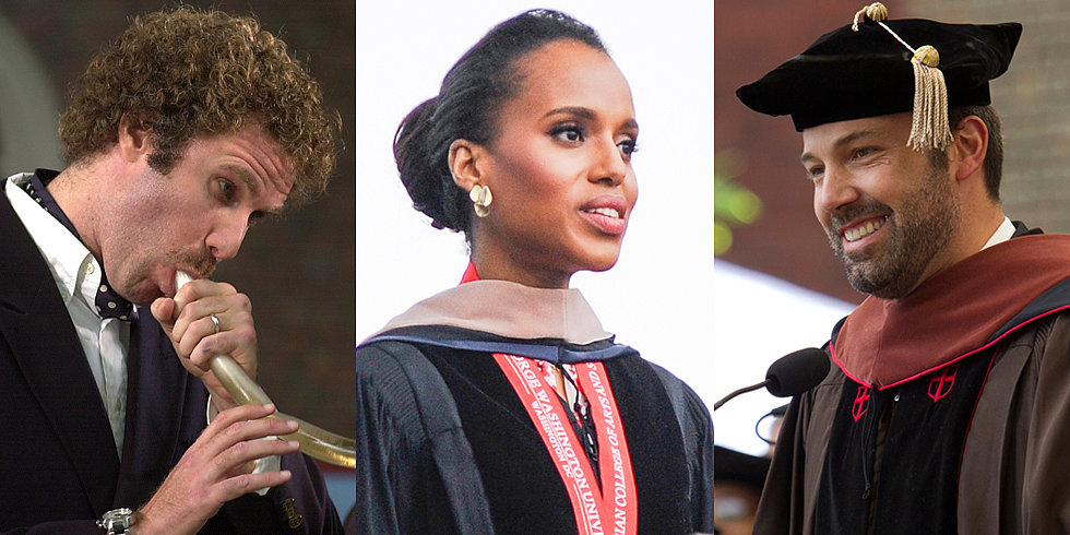 Watch Inspiring — and Hilarious — Commencement Speeches From the Stars