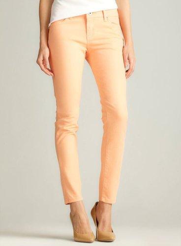 Velvet Heart Skinny Jean, Light Orange