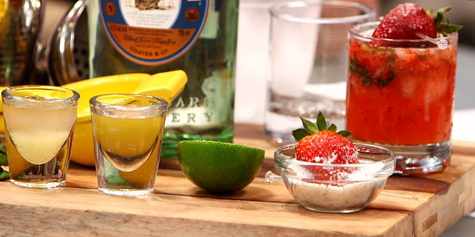 Get Ready For Summer With a Strawberry Basil Gin Cocktail