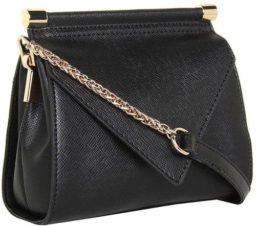 Ivanka Trump - Bianca Flap (Black) - Bags and Luggage