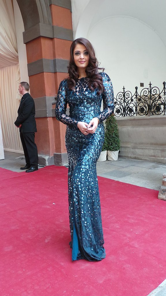 Aishwarya Rai wore Roberto Cavalli at the 2013 Life Ball in Vienna, Austria.  Photo courtesy of Roberto Cavalli