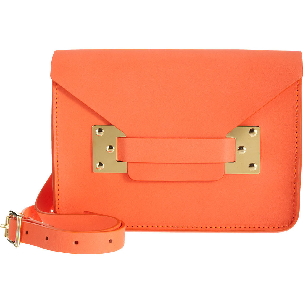 Grab Sophie Hulme's brightly hued, pint-size bag ($249, originally $415) for all your Summer weekend wanderings and getaways.