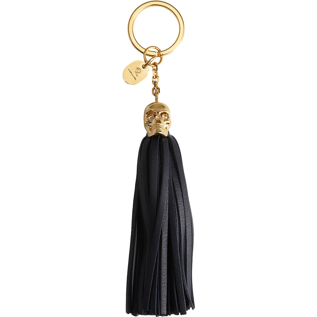 An ultraluxe Alexander McQueen keychain ($189, originally $295) is still indulgent, but a bit easier to stomach. Treat your keys!