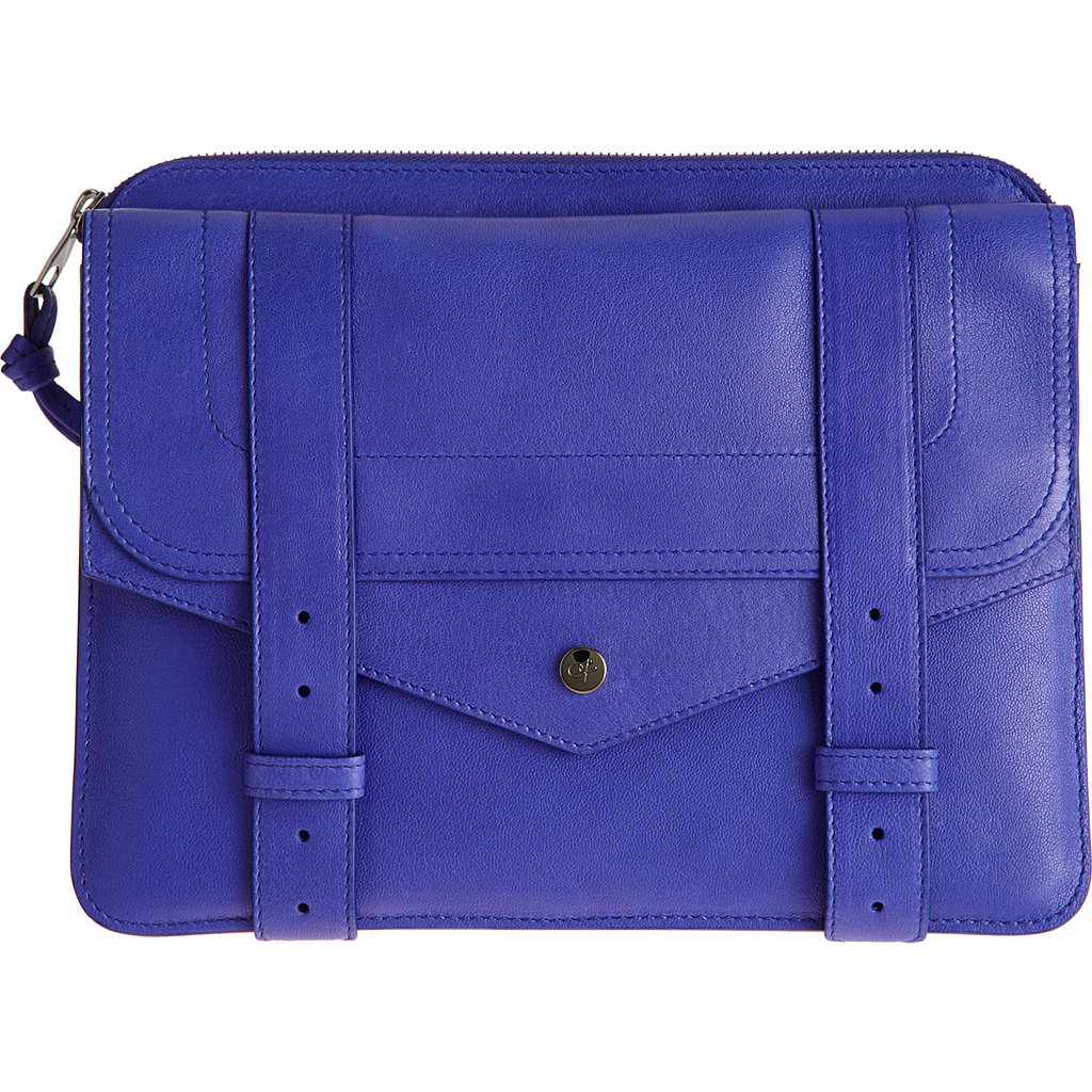 Tech accessories deserve a nice home, too. Carry your iPad in this Proenza Schouler PS1 case ($399, originally $685).