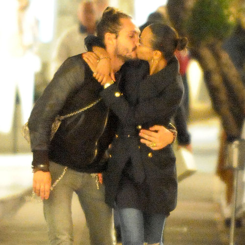 Zoe Saldana With New Boyfriend in Capri