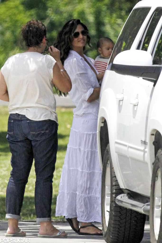 Camila Alves carried Livingston.