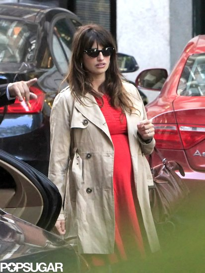 Penélope Cruz ran errands around Madrid.