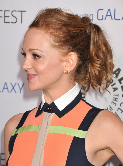 Another prime example of a voluminous pony is Jayma Mays's look at the PaleyFest Icon Awards. The tousled curls give the style an easygoing vibe.