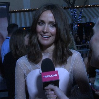 Rose Byrne Interview at The Internship LA Premiere