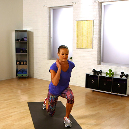 Leg Toning Exercises With Lunges