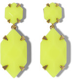 Update your Summer style with a flash of neon, thanks to these Vince Camuto stone drop earrings ($42).