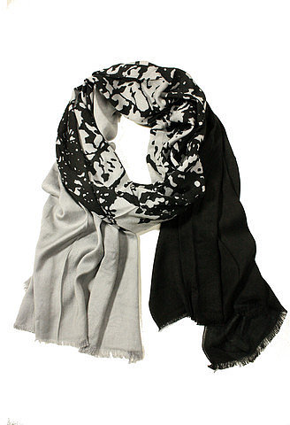 Happy Scarf Tree Of Life Gray