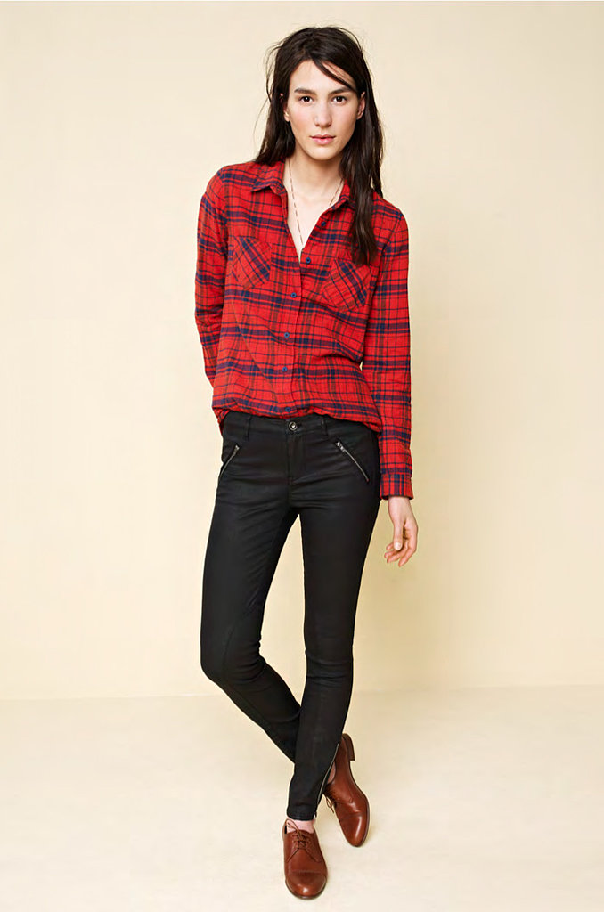1. Flannel shirt