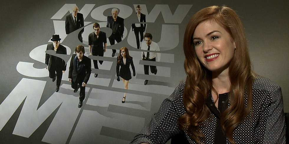"Isla Fisher on Her Now You See Me Stunts: ""That Was All Me"""