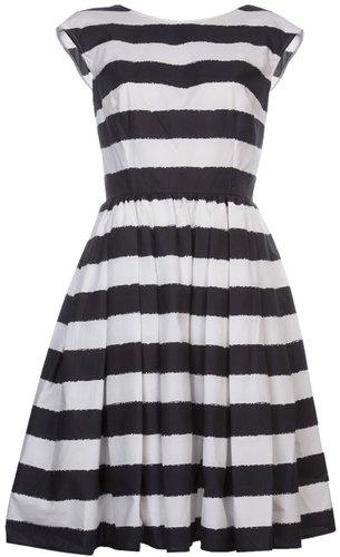 Dolce & Gabbana striped sleeveless dress