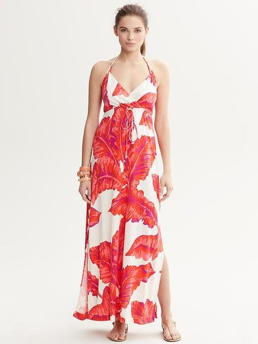 Milly Collection Banana-Leaf Print Dress