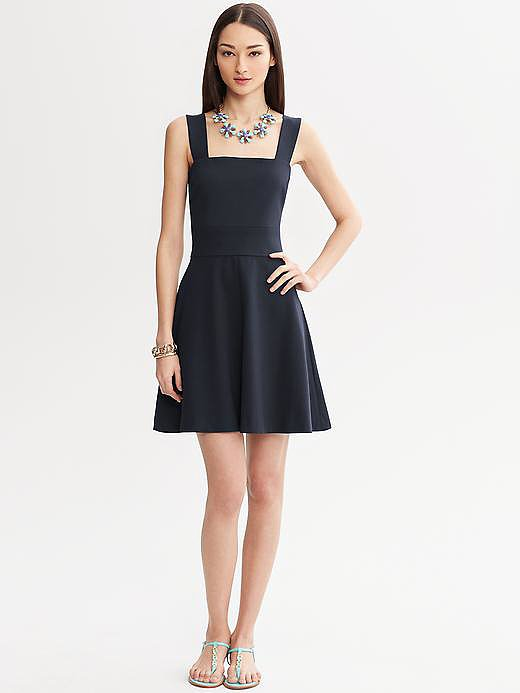 We could think of about a million occasions for — and a million ways to style — this Fit and Flare Dress ($140).