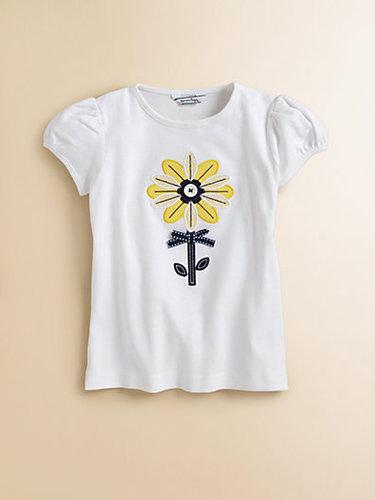 Hartstrings Toddler's & Little Girl's Sunflower Tee