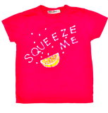 Fuschia Red Squeeze Me Tee ($33)