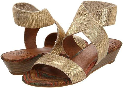 Lucky Brand - Hunter (Natural/Gold) - Footwear