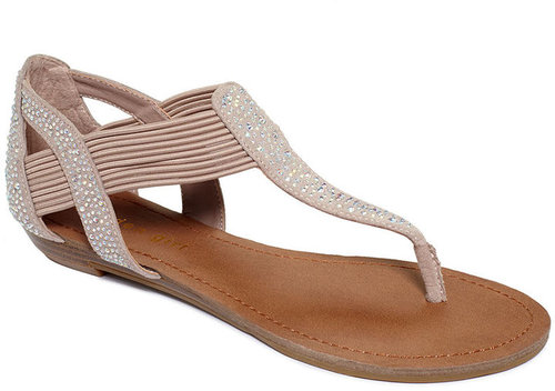 Madden Girl Shoes, Tonee Flat Thong Sandals