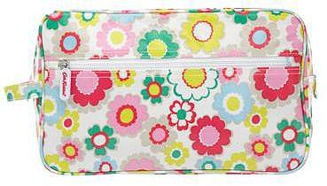 Electric Flowers Wash bag