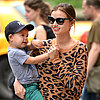 Miranda Kerr With Flynn at a Park in NYC | Photos