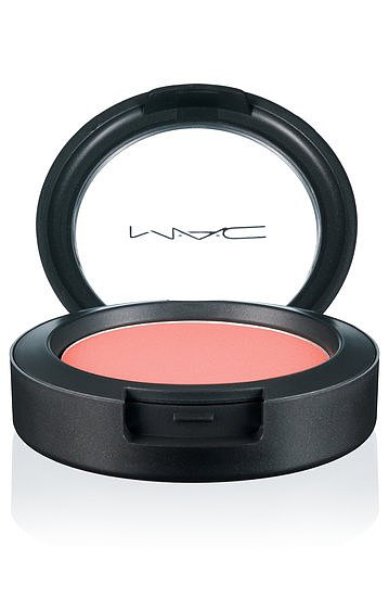 Out of all the products in the MAC All About Orange Collection, this blush in Honey Jasmine was the favorite.