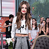 Selena Gomez Wearing Crop Top in Toronto
