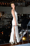 Erin Heatherton boarded a vessel for the Roberto Cavalli Yacht Party during the Cannes Film Festival in May.