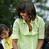 Michelle Obama Cooks With Kids From New Jersey