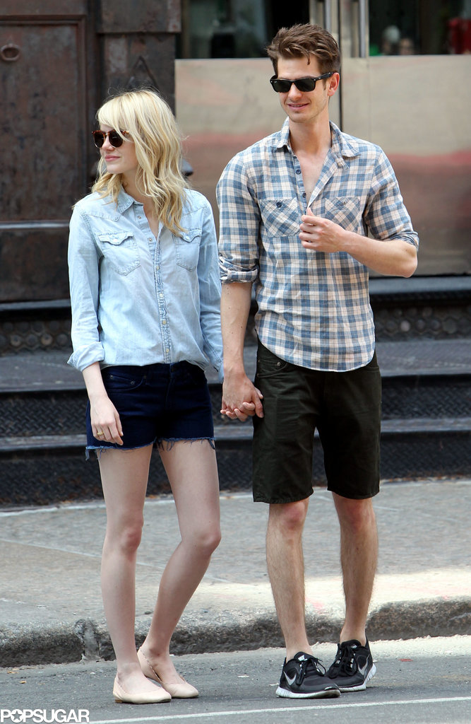 Emma Stone and Andrew Garfield st
