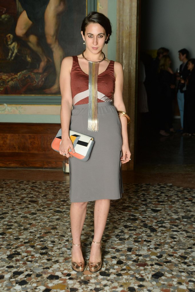 Delfina Fendi at a Purple magazine dinner in Venice, Italy. Source: Joe Schildhorn/BFAnyc.com