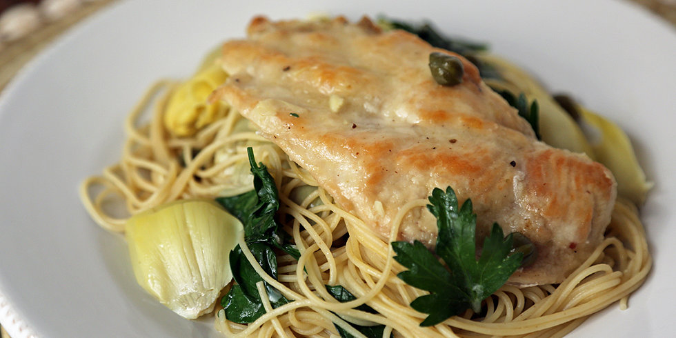 Fast and Easy Dinner: Chicken With Artichokes and Angel Hair